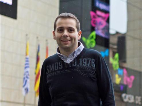 El concejal Juan José Rubio