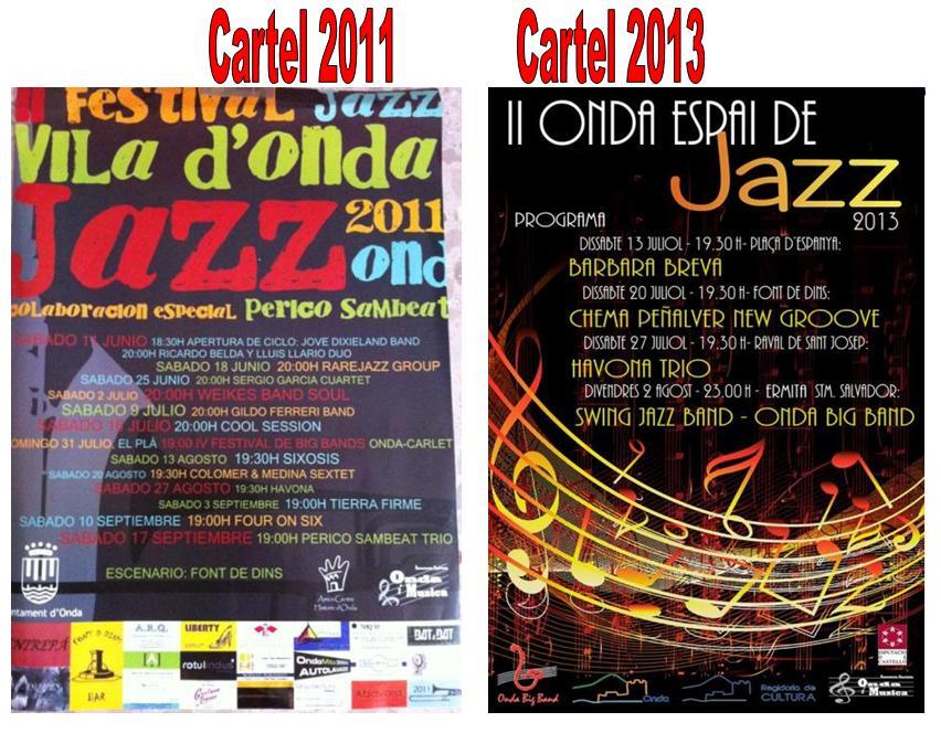 Carteles Jazz 2011_2013