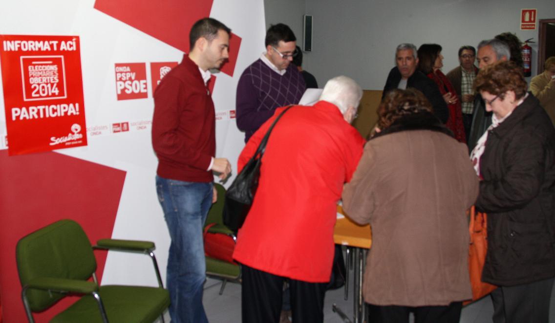 Foto primarias PSOE