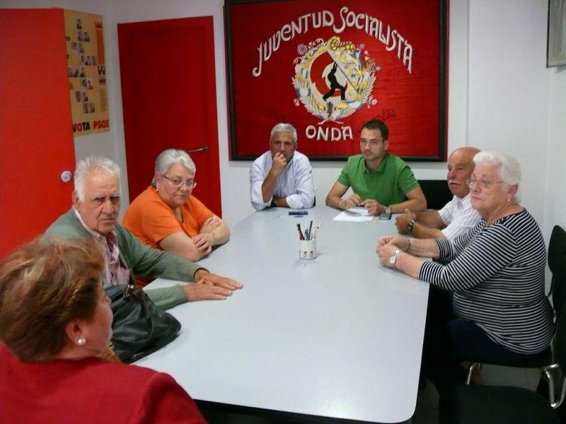 Reunión PSPV - pensionistas y jubilados ondenses