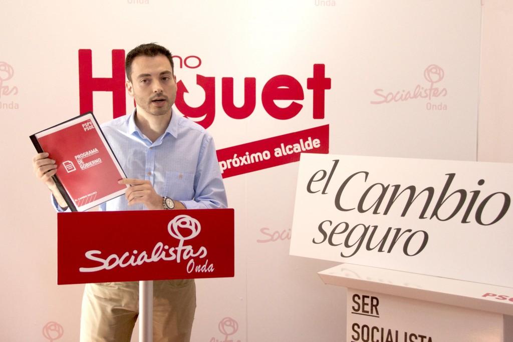 290415 Huguet Programa Socialista