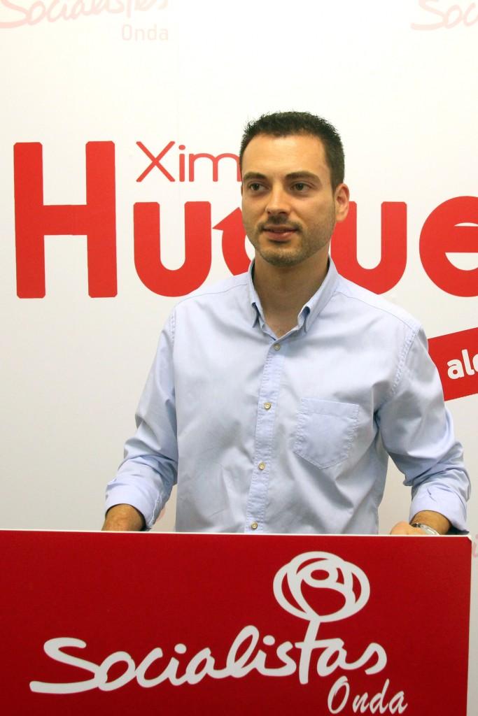Huguet Candidato Alcaldía Socialistas Onda