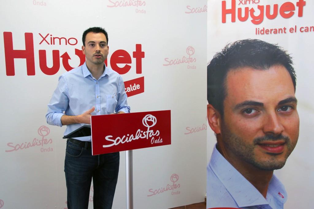 Socialistas Onda Ximo Huguet