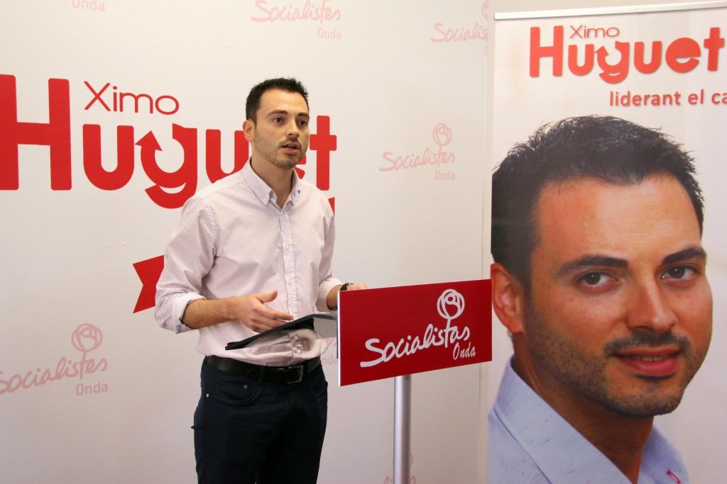 Ximo Huguet Socialistas Onda