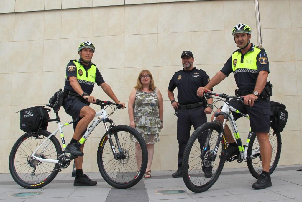 Unidad Bici Policía Onda