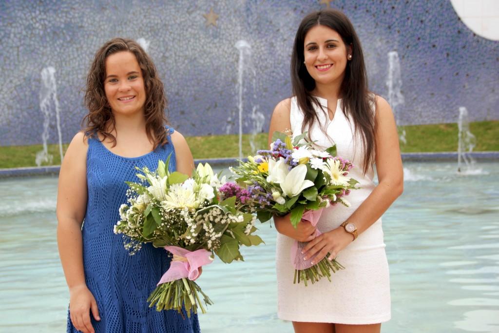 090715 Cristina Llorens (derecha) y María Hurtado (izquierda)