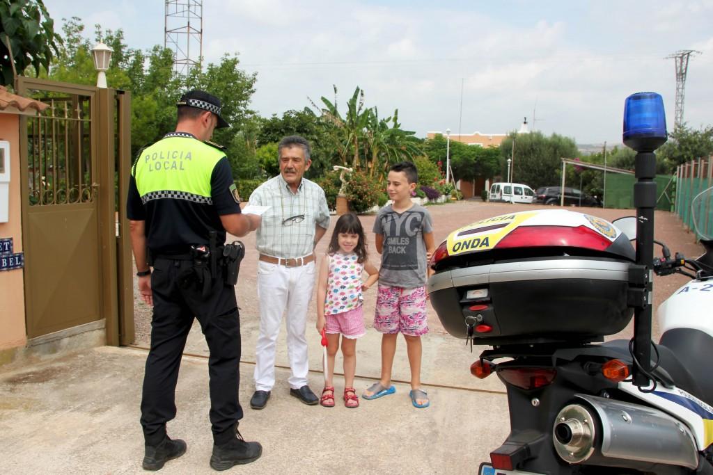 Policía Local Onda Plan Prevención