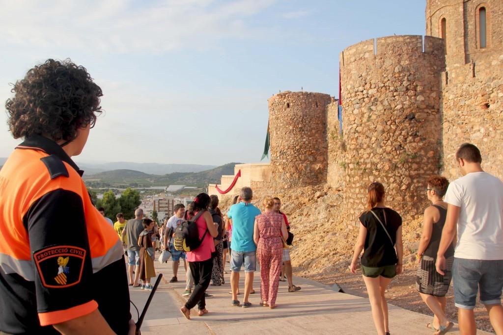 Protección Civil en Feria Medieval 2015