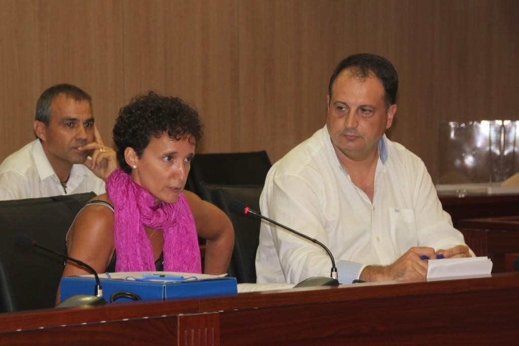 Salvador Aguiella y Carmina Ballester PP Onda