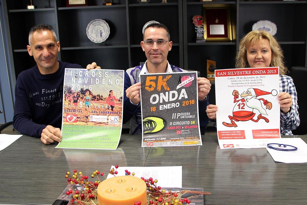 181215 Presentación Pruebas Atletismo Ayuntamiento Onda