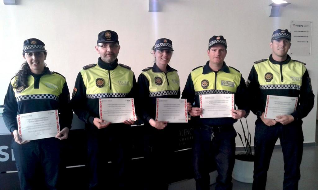 130316 Agentes Policía Local Onda dipoloma IVASPE