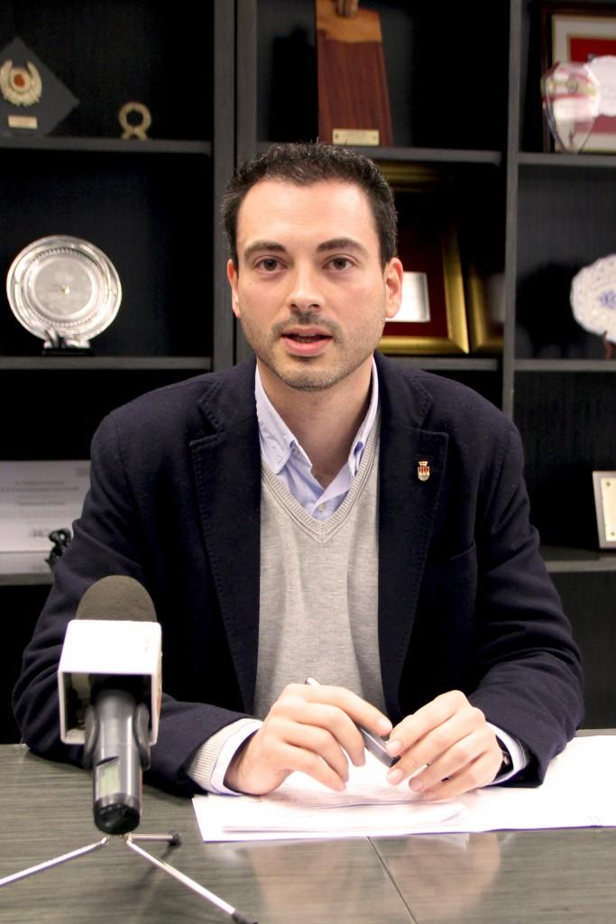 Alcalde de Onda Ximo Huguet