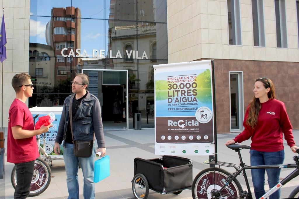 130416 Campaña Reciclaje Aparatos Ayuntamiento Onda