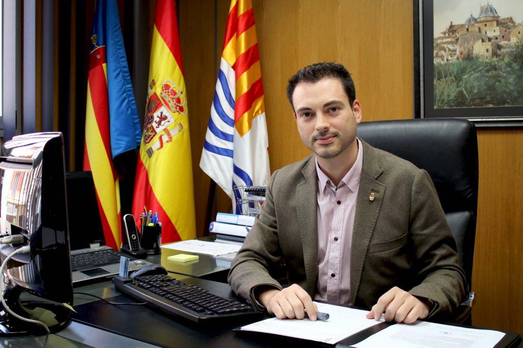 210416 Alcalde de Onda, Ximo Huguet