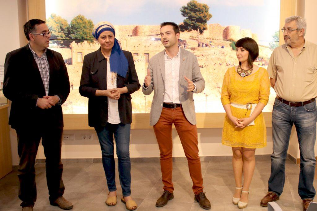 030616 Rueda Prensa Alcalde Onda, Ximo Huguet, Ángel Badenas y empresas turísticas