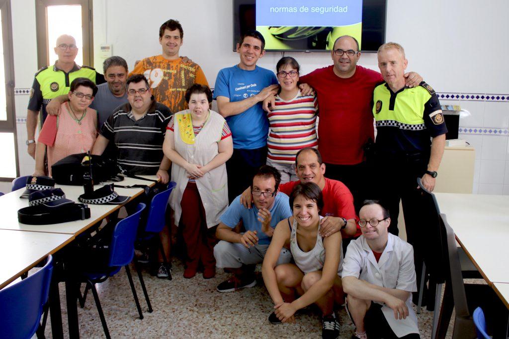 050716 Foto grupo Educación Vial Policía Local Onda a CO Molí