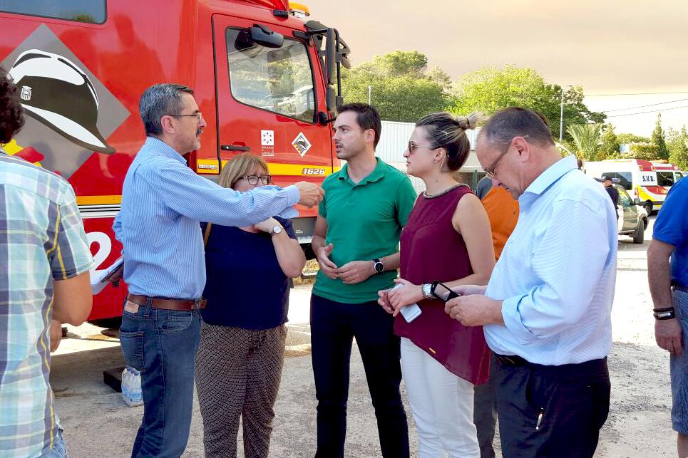 250716 Alcalde de Onda, XImo Huguet, visita PMA Artana