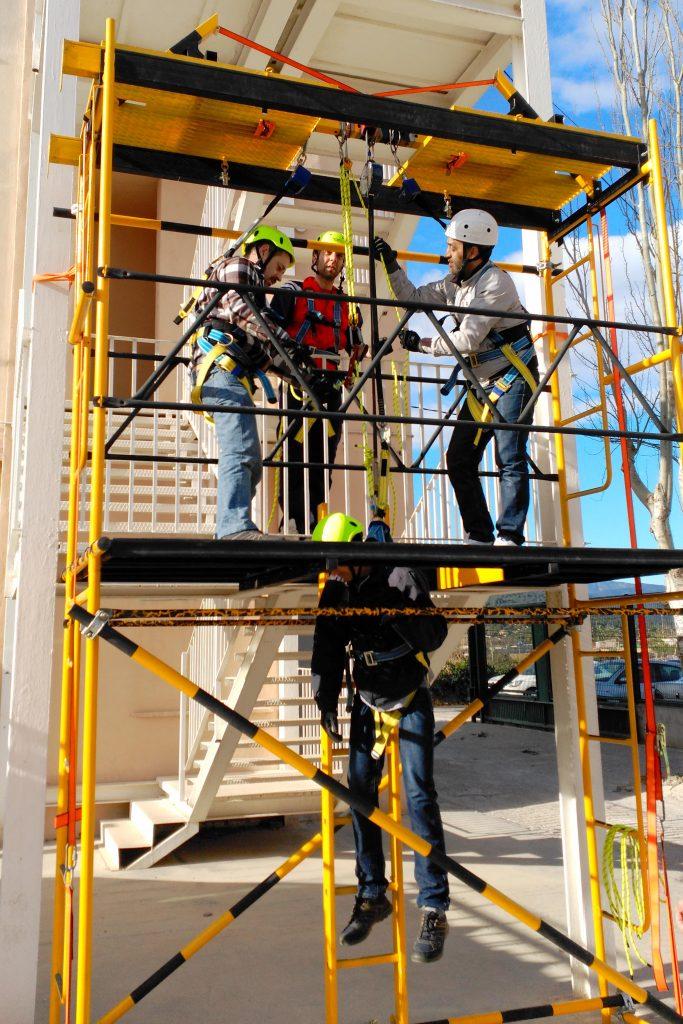 Curso trabajos en altura y espacios confinados Ayuntamiento Onda
